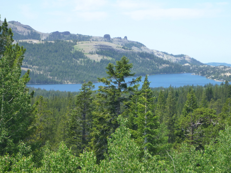 Caples Lake west of Carson Pass