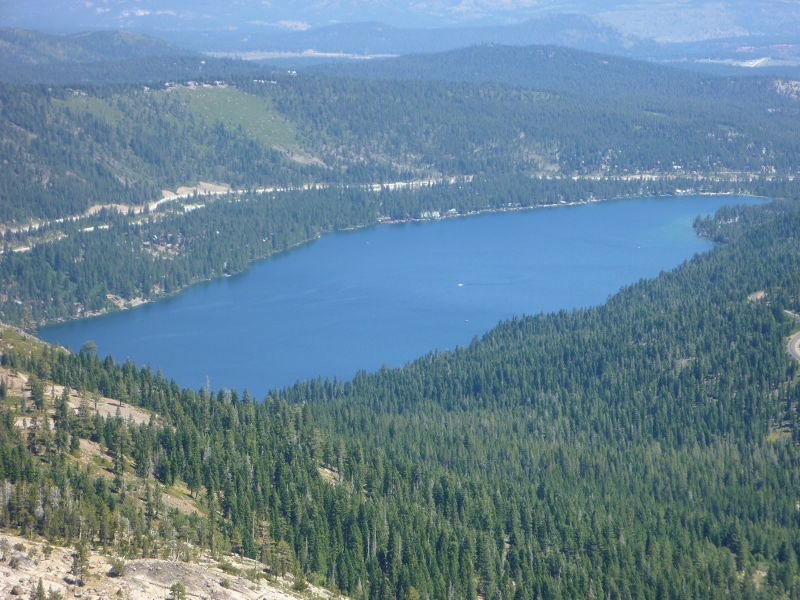 Release of rainbow trouts into donner lake california for Donner lake fishing report